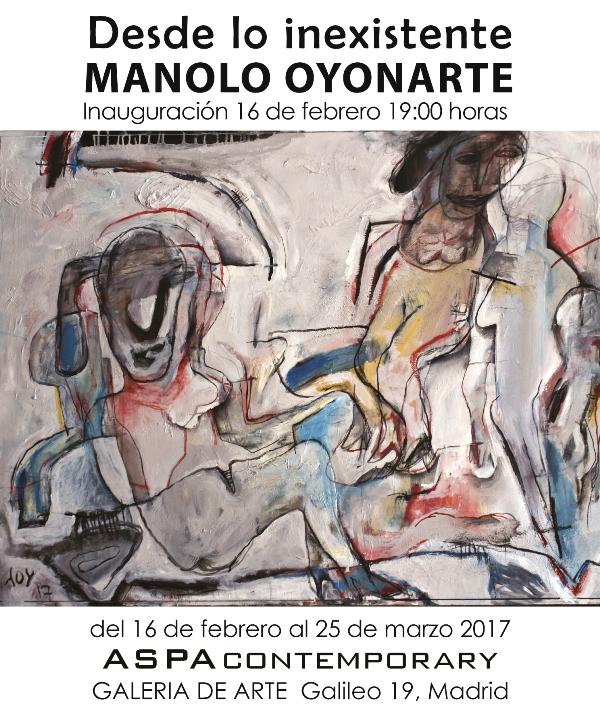 Manolo Oyonarte - Desde lo Inexistente - Aspa Contemporary