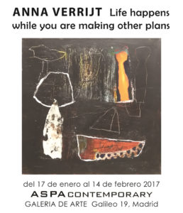 Anna Verrijt - Life happens while you are making other plans - Aspa Contemporary